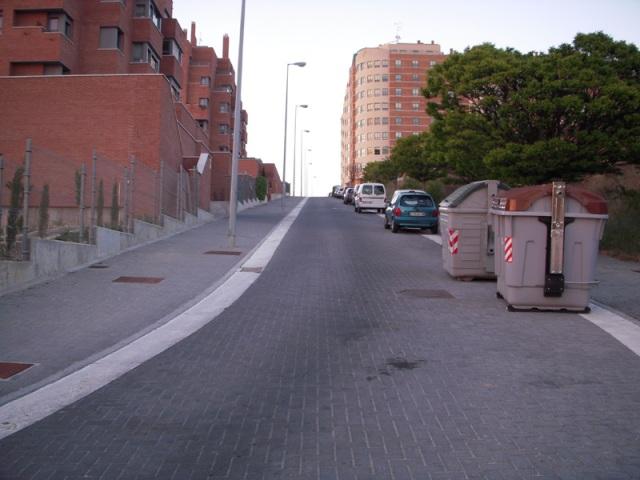 Subida en pleno barrio pucelano de Parquesol