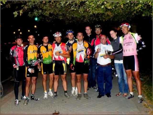 Celebracion final del GP Canal de Castilla 2009 en Parquesol (Valladolid)