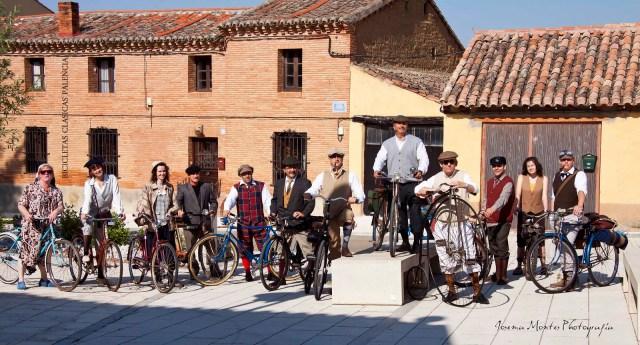 Bicis clasicas en el Camino de Santiago
