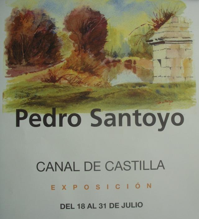 Exposición de acuarelas del Canal de Castilla