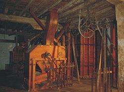 Interior Fábrica de Harinas Medina de Rioseco