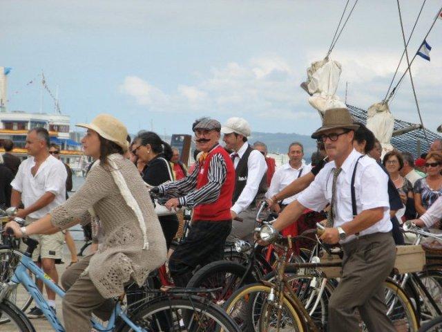 II Tweed ride 2011 en Santander