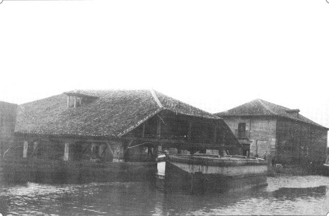 Astillero y Casa del Rey en el Canal de Castilla