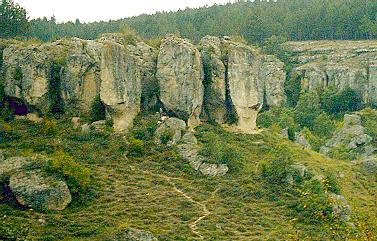 Roquedos del Valle de Recuevas