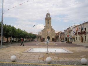 Plaza de Espana en Melgar