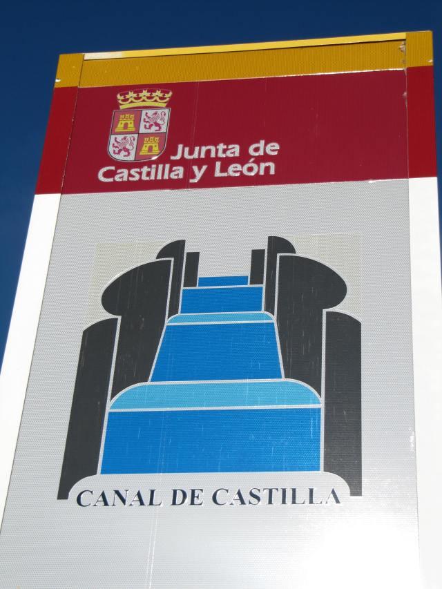 Cartel Canal de Castilla