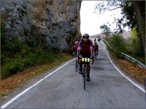 En bici en Las Tuerces