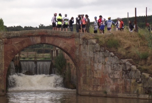Charla en el Canal de Castilla
