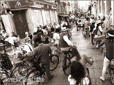II_Encuentro_de_Bicicletas_Clasicas_Calle Mayor