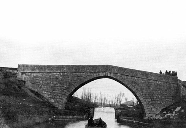 Visión antigua puente de Valdemudo