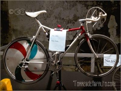Bici récord de la hora Francesco Moser